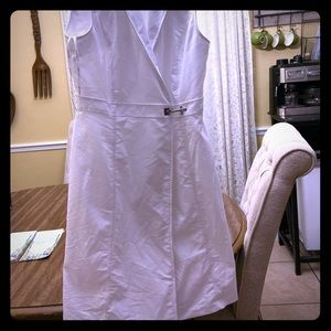 White Calvin Klein dress never worn - washed once